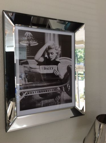 "Wandbild Marilyn Monroe ""Newspaper"""