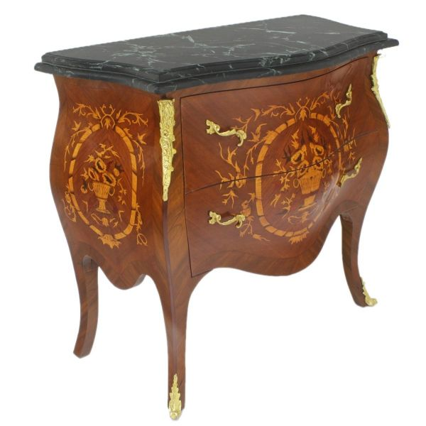 Barock Kommode Commode Avallon Marqueterie
